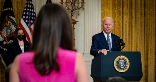 Biden Finds a Bipartisan Victory, but Democratic Unity May Prove More Elusive