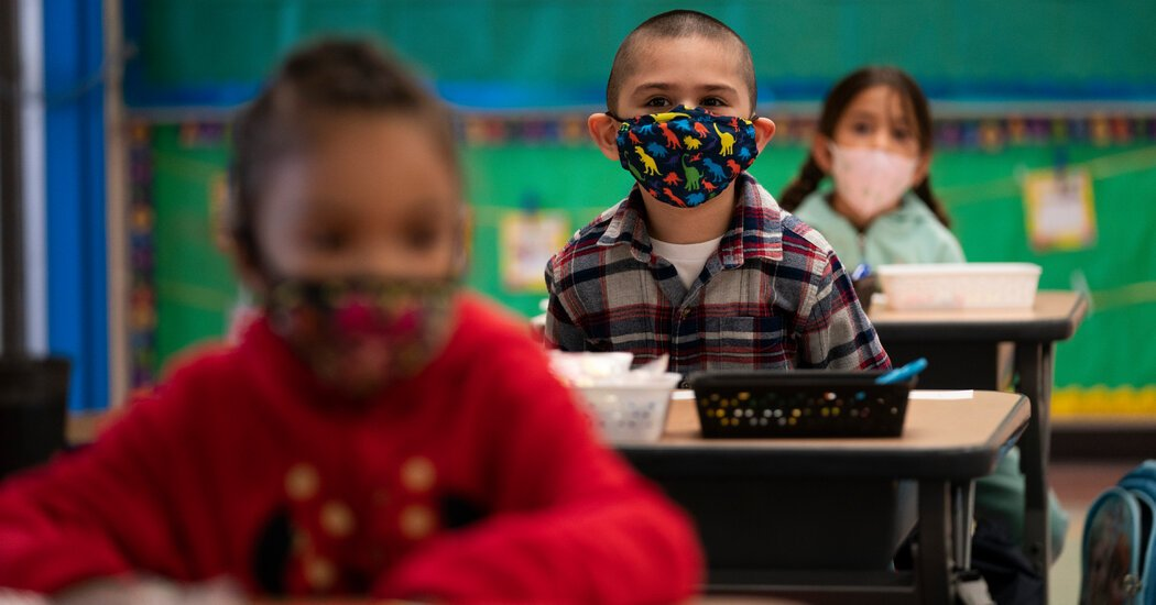 New York City and California Stick With Mask Guidelines in Schools