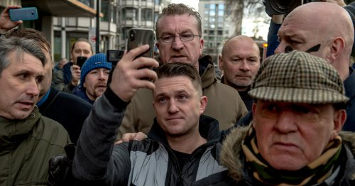 Tommy Robinson, the Far-Right Agitator, Lifted by Trump, Turns to Russia