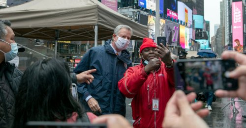Why Bill de Blasio Is Finally Having Fun as Mayor