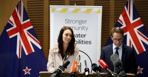 New Zealand announces a plan to move away from lockdowns.
