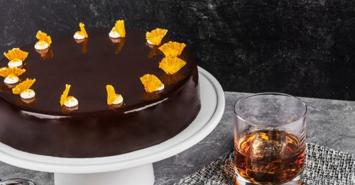 A Boozy, Mousse-y Cake for Pops