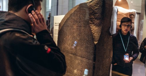 The 20-Year Contest to Crack the Code of the Rosetta Stone