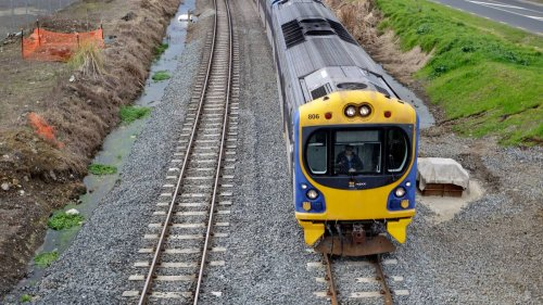 Super Rugby final: Fans told to avoid some trains after tornado damage causes cancellations - NZ Herald