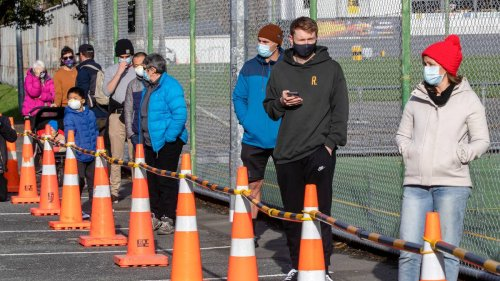 Covid 19 coronavirus: Wellington's first full day at alert level 2 sees testing sites busy, hospitality deflated - NZ Herald