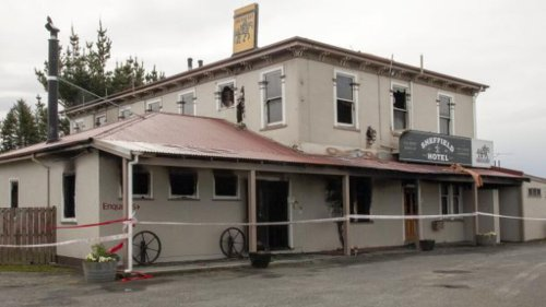 Fire at Canterbury's Sheffield Hotel caused by electrical fault - NZ Herald