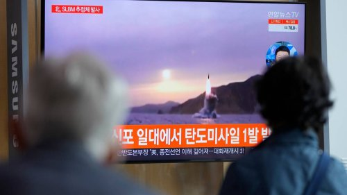 North Korea fires at least one ballistic missile into sea hours after US offers to resume nuke talks - NZ Herald
