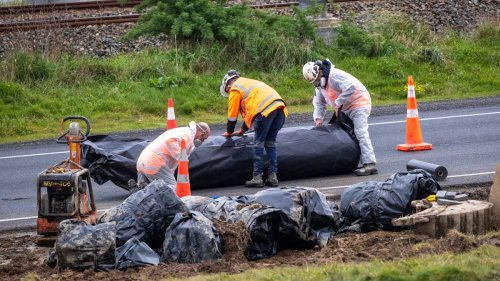 How an asbestos cement pipe prematurely failed under Wellington motorway - NZ Herald