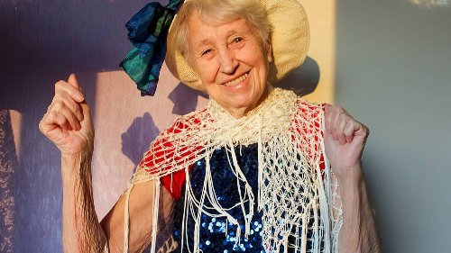Kevin Page: Dear ol' mum, the village's 80-plus year-old Dancing Queen - NZ Herald