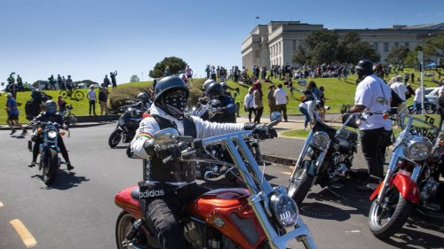 Thousands at Auckland Domain rally, police keep distance as Brian Tamaki speaks - NZ Herald