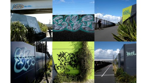 Graffiti City: Taggers strike while Auckland remains in lockdown - NZ Herald