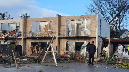 'Rapid storm' in Auckland: Tornado tears down trees, trampoline blown away - NZ Herald