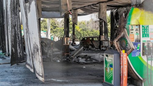 Arrest for Napier's Bay View petrol station inferno - NZ Herald