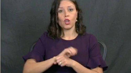 Joe Biden used 'Trump activist' as sign language interpreter in press briefing - NZ Herald