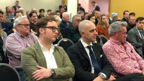 Packed room for public meeting on crime and harassment in Wellington - NZ Herald