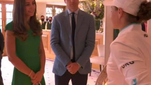 Ash Barty rejects Prince William claim in front of Kate Middleton - NZ Herald