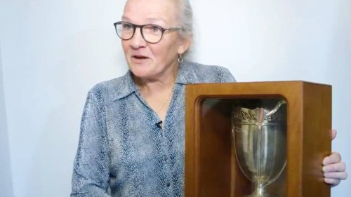 Rugby: Missing Women's Rugby World Cup trophy discovered in attic 15 years later - NZ Herald