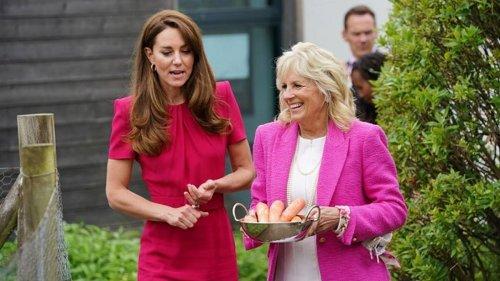 Daniela Elser: Why Kate's Jill Biden G7 outing could upset Meghan Markle - NZ Herald