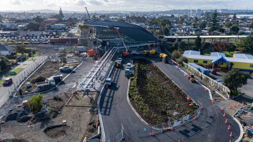 Public invited for first look inside expanded Puhinui bus/train station - NZ Herald
