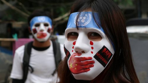 Myanmar protests: US expert accuses China of 'setting the stage for a bloody war' - NZ Herald