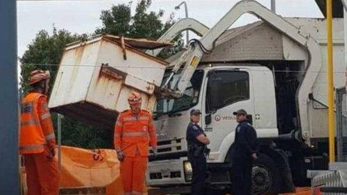 Boy killed in horror rubbish truck incident in Australia - NZ Herald