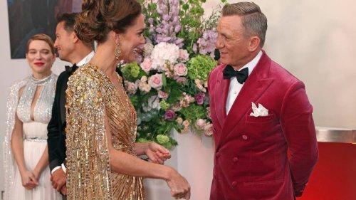 Daniela Elser: Kate Middleton caught 'off guard' with Bond actor Rami Malek - NZ Herald