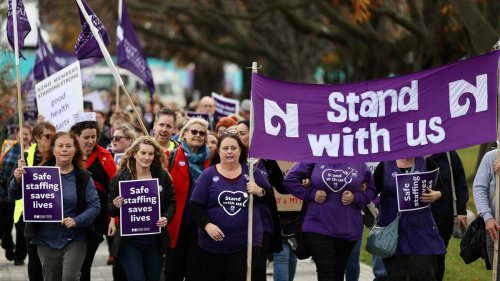 Nurses offered $13,000 pay raise from DHBs, warning signs proposed when under staffed - NZ Herald