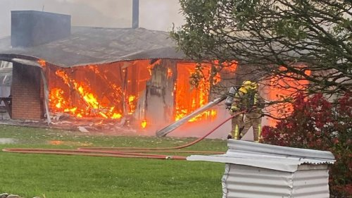 Former Gloriavale family loses everything in West Coast fire after lightning strike - NZ Herald