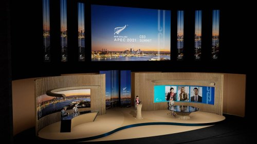 APEC 2021: The future of conferences? NZ breaks new ground with Apec CEO summit - NZ Herald