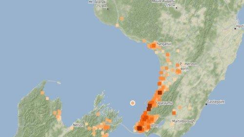 Earthquake hits lower North Island overnight - NZ Herald