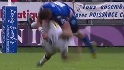 'Worst tackle I've ever seen': Red card shocker in Top 14 game - NZ Herald