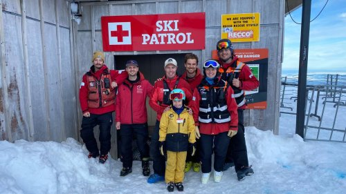Seven-year-old visits every Kiwi ski field for Cancer Society mum - NZ Herald