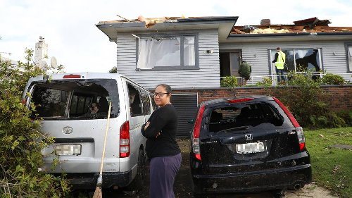 South Auckland tornado throws fencing on to family in bed - NZ Herald