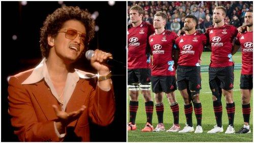 Kiwi Super Rugby franchises caught in bizarre Bruno Mars hoax - NZ Herald