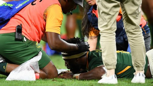 Rugby Championship: Springboks captain Siya Kolisi says he's 'never been so scared in a rugby game' after All Blacks collision - NZ Herald