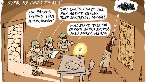 Guy Body's cartoons: October 1 - 31 - NZ Herald