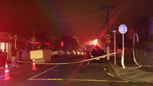 Fire crews battling house fire in Wellington - NZ Herald