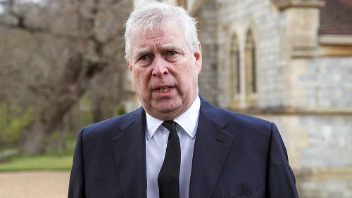 Prince Andrew seen in public as he pays tribute to father Prince Philip - NZ Herald