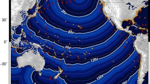 Tsunami warning: Alert issued over 8.1 magnitude Pacific earthquake - NZ Herald