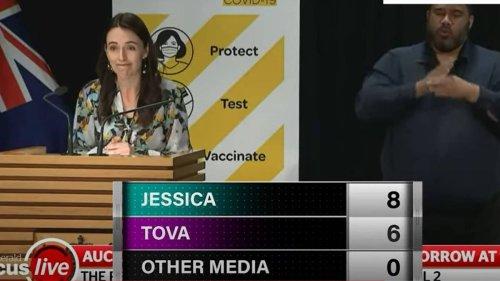 'Jessica then Tova': Prime Minister Jacinda Ardern's curious 1pm news conference habit - NZ Herald