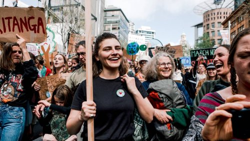 Chlöe Swarbrick: Youth protest is politics in its purest form - NZ Herald