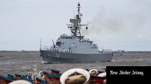 Iranische Kriegsschiffe auf Jungfernfahrt in der Ostsee