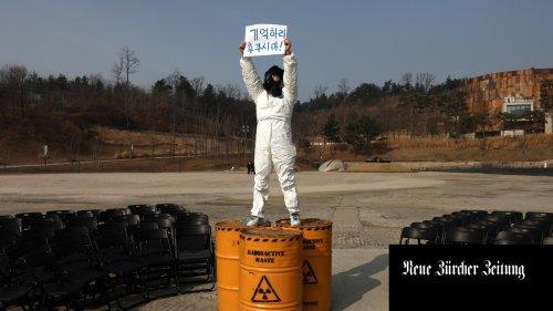 «Der Pazifik ist nicht Japans Kanalisation» – China und Südkorea protestieren gegen Japans Entscheid, Fukushima-Abwasser ins Meer zu pumpen