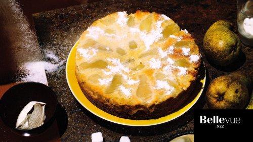 Birnen-Vanille-Kuchen