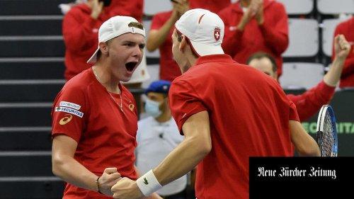 Schweizer bezwingen Esten im Davis Cup mühelos +++ Mathias Flückiger siegt im Gesamtweltcup – und weitere Sportmeldungen