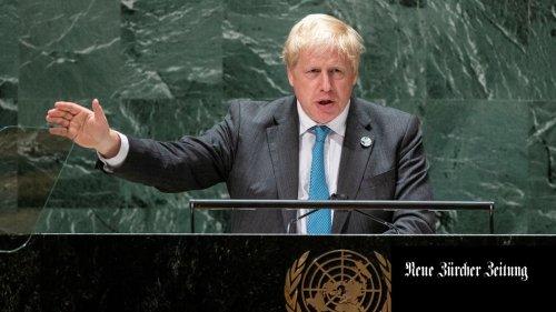 «Kermit der Frosch lag falsch»: Die Klimarede des Boris Johnson