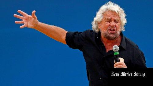 Beppe Grillo zerschlägt die Fünf-Sterne-Bewegung, die er gegründet hat