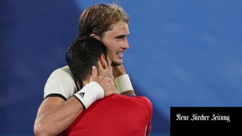 Der Traum vom Golden Slam ist für Novak Djokovic geplatzt – er unterliegt Alexander Zverev im Halbfinal des olympischen Tennisturniers
