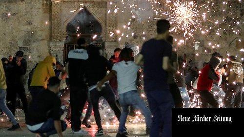 Berichte: Schwere Zusammenstösse in Jerusalem mit mindestens 220 Verletzten