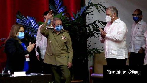 Historischer Abgang: Raúl Castro gibt den Vorsitz der kubanischen Kommunisten ab